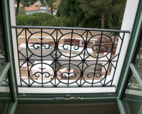 Iron Luxury Balcone