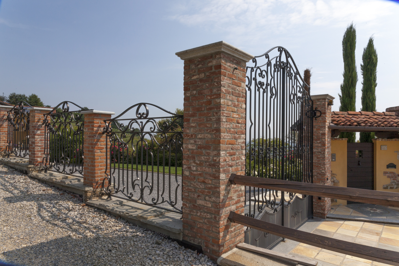 Villa cavagli ferro battuto favv iron luxury for Gazebo in stile francese